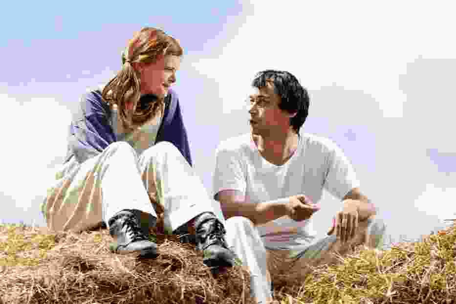 """Zuzana Bydzovska (Maria) i Pavel Liska (Petr Doleżal) w scenie z filmu """"Mój nauczyciel"""""""
