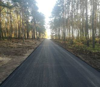 Droga w Nowej Kaźmierce już gotowa. Przebudowa kosztowała 0,5 mln zł