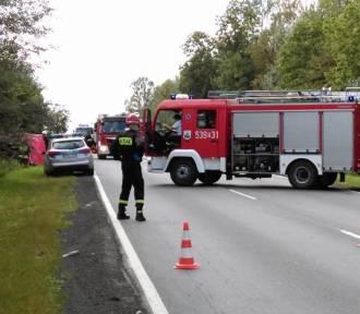Śmiertelny wypadek motocyklisty w Ociążu
