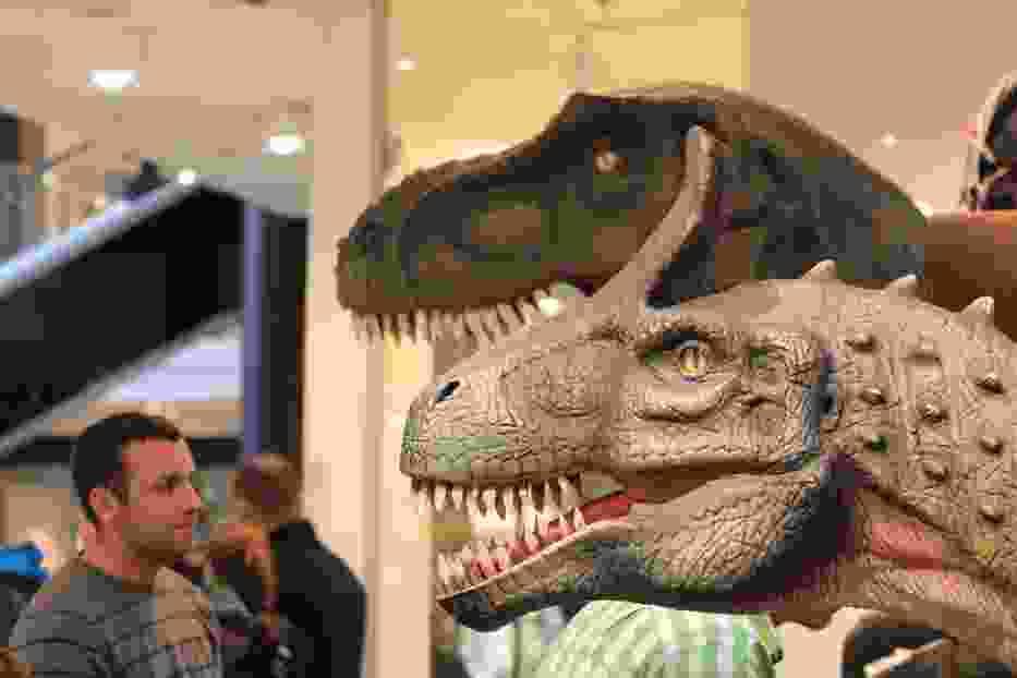 Dinozaury w Galerii Krakowskiej   Fot