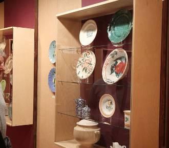 Niezwykła ceramika w Zbiorach Sztuki przy ul. Zamczej we Włocławku [zdjęcia]