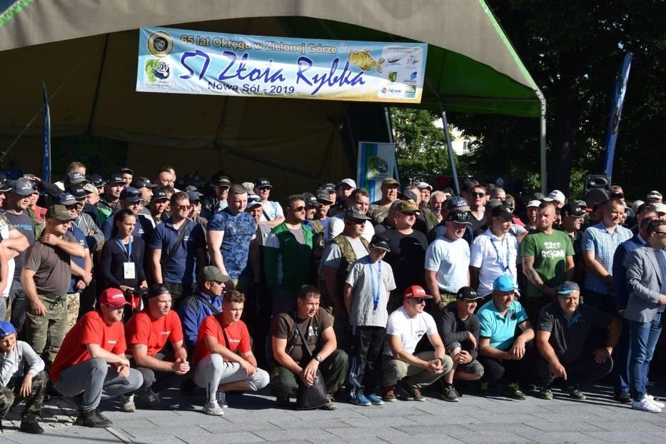 Zawody wędkarskie Złota Rybka, Nowa Sól, 9 czerwca 2019 r