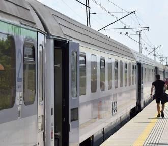 Pociąg pospieszny ze Szczecina do Przemyśla znów kursuje przez Wieluń ZDJĘCIA