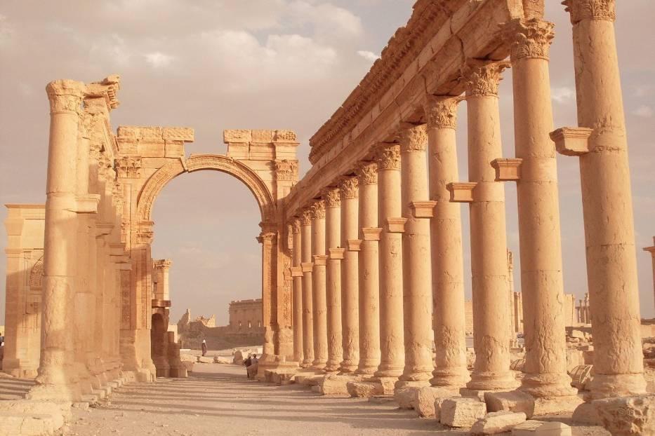 Świątynia Baalszamina w Palmyrze, Syria