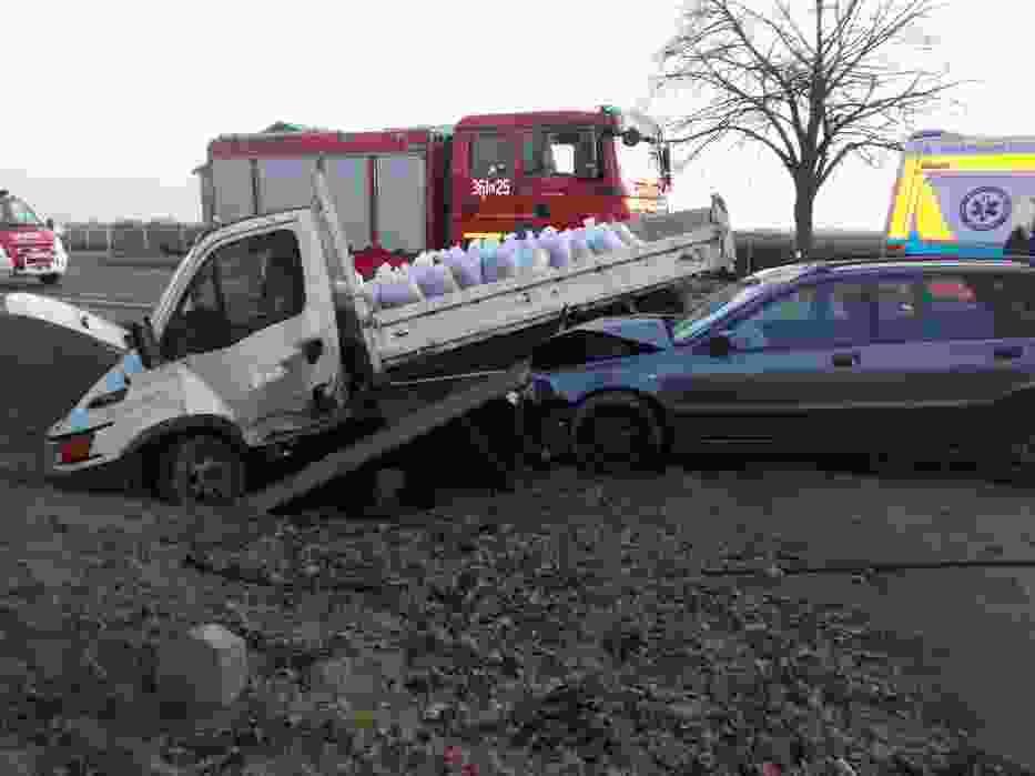 Wypadek w Spławiu