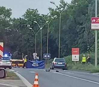Śmiertelny wypadek na Jesionowej w Kielcach. Policjanci szukają świadków