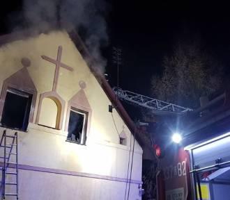 Pożar pod Wrocławiem. Nie żyje 43-letni mężczyzna [ZDJĘCIA]