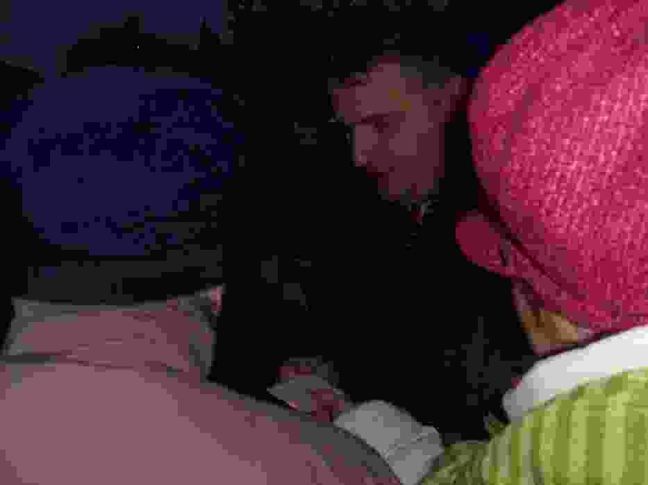 Prezydent Ostrowca Świętokrzyskiego, Jarosław Wilczyński podczas wigilijnego spotkania z mieszkańcami miasta