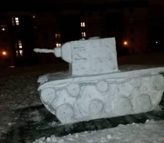 Na kieleckim osiedlu pojawił się ... czołg