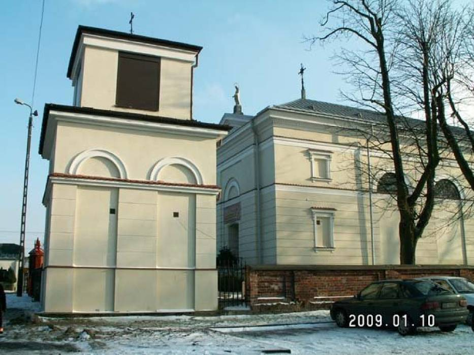Kościół w Pęcicach