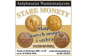 """Antykwariat Numizmatyczny """"STARE MONETY"""""""