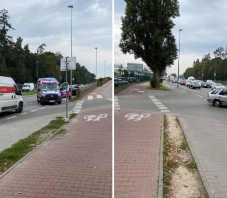 Śmiertelny wypadek na ulicy Mieszka I. Policja blokuje przejazd
