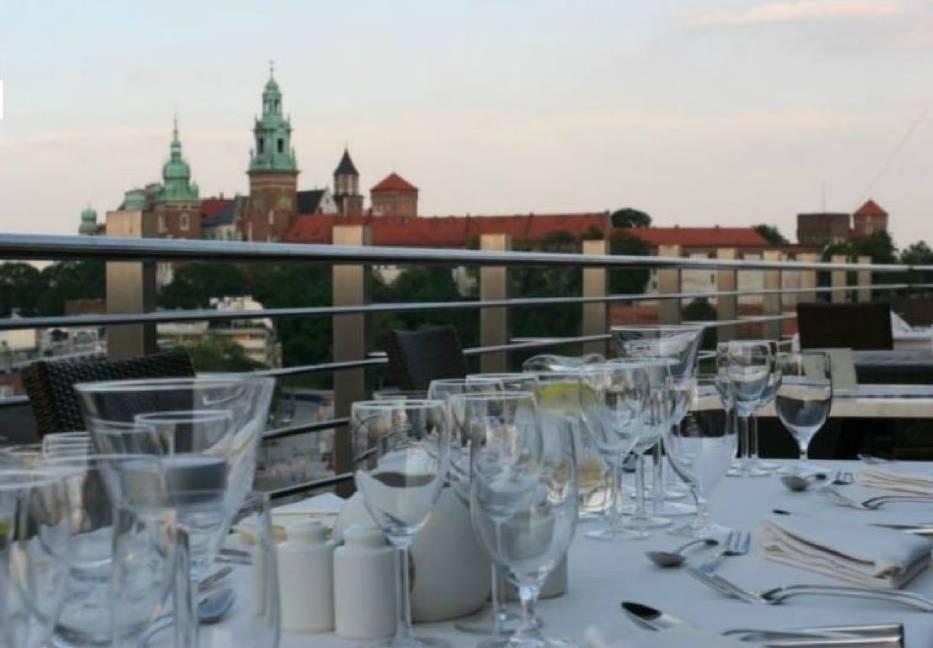 Odwiedź restauracje z widokiem na Kraków!