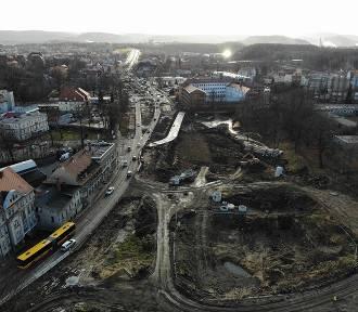 Najnowsze zdjęcia obwodnicy Wałbrzycha z lotu ptaka i z ziemi. Tutaj sami nie zajrzycie! Zobaczcie