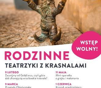 Darmowy teatrzyk w Centrum Handlowym Auchan Bielany. W rolach głównych: wrocławskie krasnale!