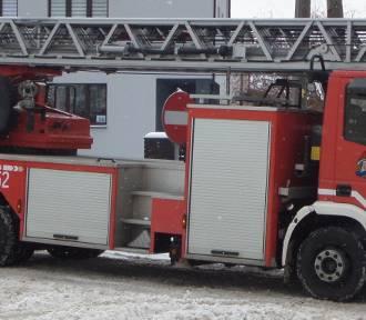 Pożar w Domu Pomocy Społeczneej przy Kontkiewicza. Ewakuowano mieszkańców