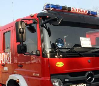 Wypadek w dolinie Popradu. Auto rozbite o bariery zabezpieczające drogę