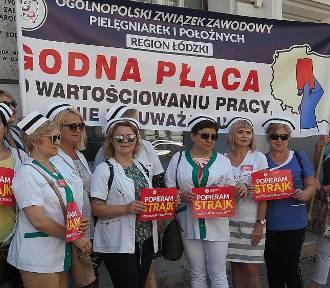 Medycy z Łódzkiego niezadowoleni. Kilka autokarów jedzie na protest