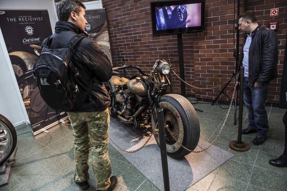 Jednoślad Nergala i motor z tatuażami! Zobacz najciekawsze eksponaty z Moto EXPO 2016 [ZDJĘCIA]