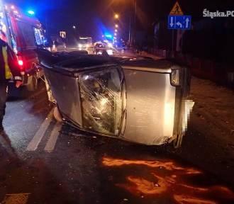 Wypadek na 1 Maja w Rybniku. Pijany kierowca wyprzedzał sznur aut [NOWE INFO + ZDJĘCIA]