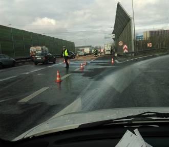 Katowice: Stłuczka na A4... i zamknięta autostrada