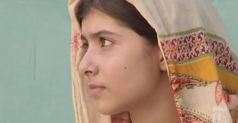 Malala Yousafzai  źródło - http://www