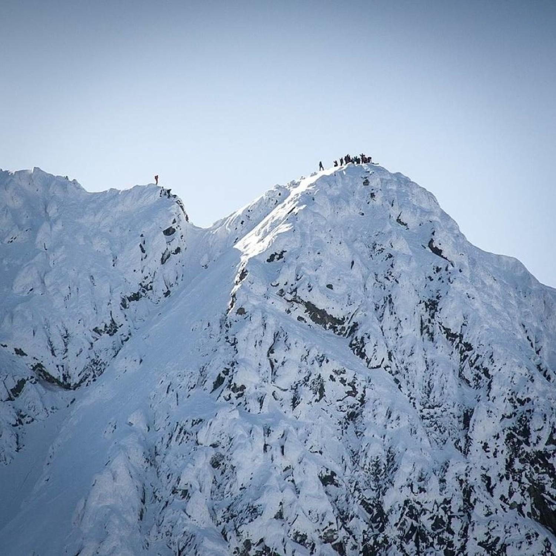 Świnicka Przełęcz - ŚwinicaTam też lepiej nie zapędzać się na obecną chwilę - jeśli oczywiście zaczynamy dopiero swoje kroki w zimowych górach
