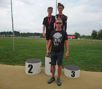 Dwa złote medale młodzików Pegaza w mistrzostwach województwa (FOTO)