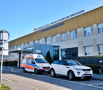 KORONAWIRUS. Kwarantanna na onkologii w szpitalu przy ulicy Kamieńskiego