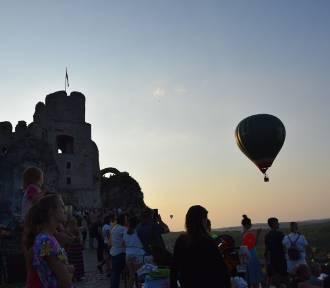 Balonowa fiesta na zamku Ogrodzieniec