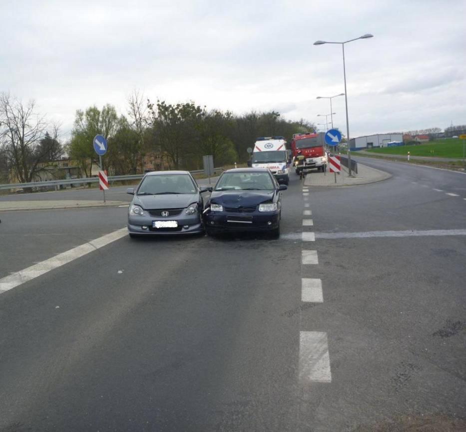 Wypadek w Murowanej Goślinie: Jedna osoba w szpitalu