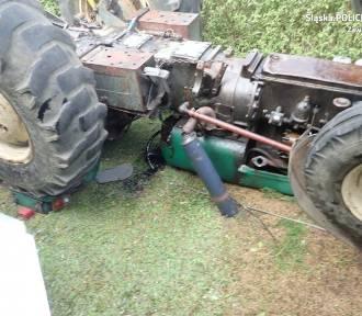 Traktorzysta zginął przygnieciony przez ciągnik
