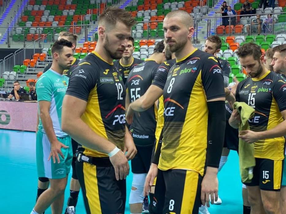PGE Skra Bełchatów wygrywa w Lubinie po trudnym meczu na otwarcie sezonu
