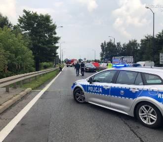 Śmiertelny wypadek w Katowicach. Zginął 86-latek