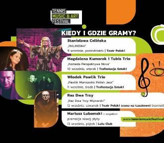 Kto wystąpi na Tennis Music & Art Festival w Szczecinie 2019 [PROGRAM]