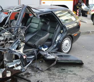 Tragiczny wypadek w centrum Skierniewic. Mężczyzna w stanie ciężkim