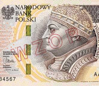 Nowy banknot 200 złotych już w obiegu