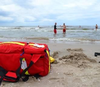 Na plaży w Krynicy Morskiej znaleziono zwłoki mężczyzny
