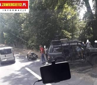 Wypadek na DK78 w Zawierciu-Kalinówce. Trzy osoby ranne AKTUALIZACJA
