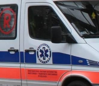 W Uniejowie 3-letnie dziecko wpadło pod samochód. Dziewczynka trafiła do szpitala