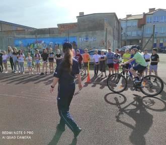Egzaminy na kartę rowerową pod okiem policjantów