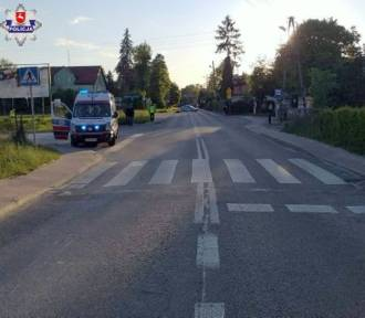Sprawca wypadku na przejściu dla pieszych trafił do aresztu