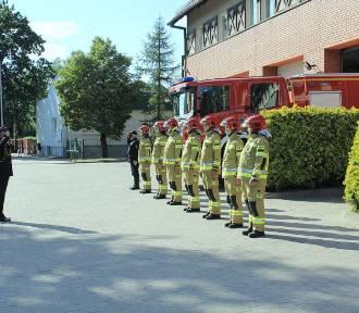 Pleszewscy strażacy uczcili bohaterów Powstania Warszawskiego