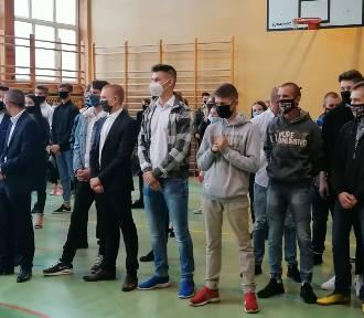 Rozpoczęcie roku szkolnego 2020/2021 w Zespole Szkół Ponadgimnazjalnych w Poddębicach