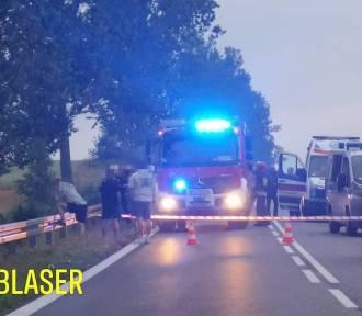 W wypadku pod Lęborkiem zginął 32-letni mężczyzna