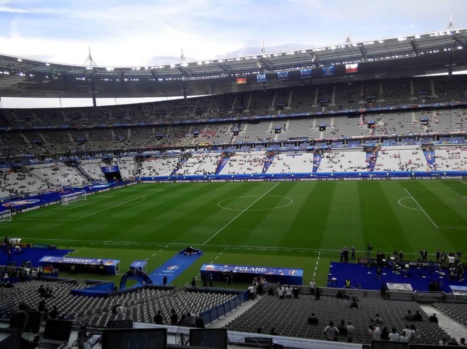 Przed meczem Polska vs Niemcy podczas Euro 2016 w Paryżu