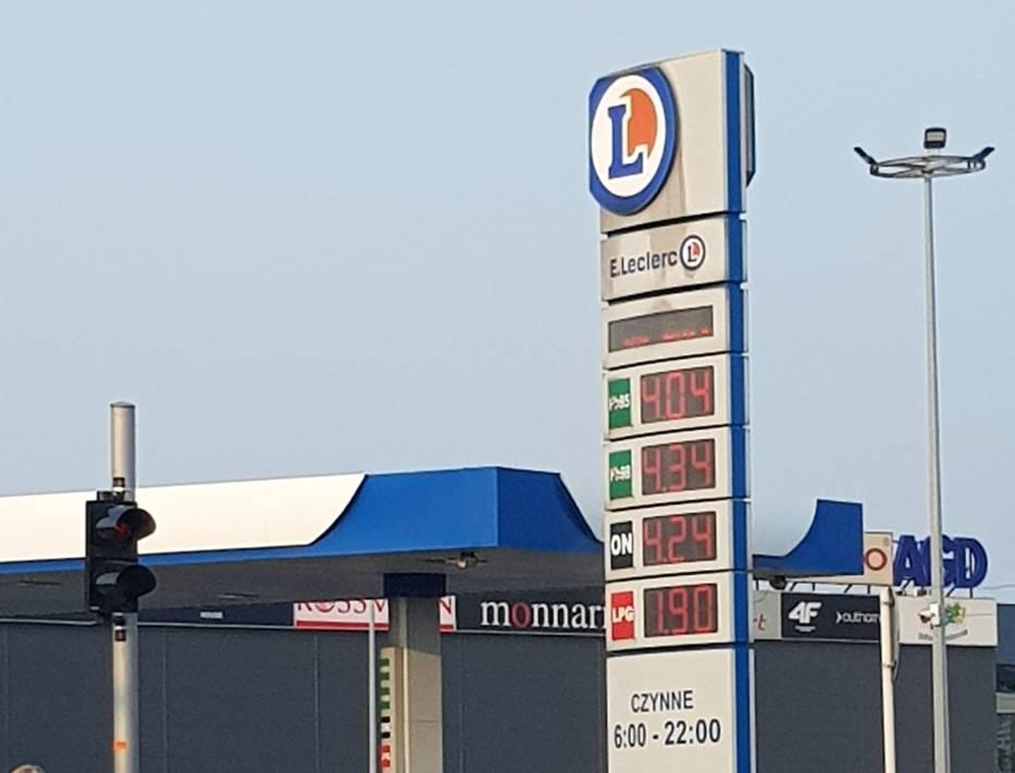Ceny paliw w Rzeszowie