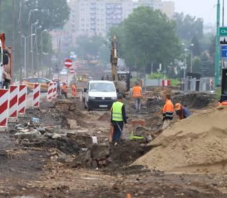 Prace na ul. 3 Maja i Hajduckiej