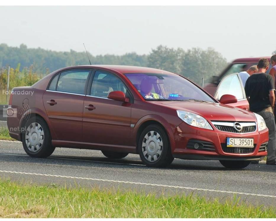 Opel Vectra C fl Drogówki z Rudy Śląskiej (Woj