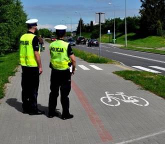 Policyjna akcja w trosce o bezpieczeństwo pieszych i rowerzystów